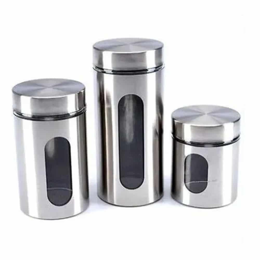 Kit-Conjunto-De-Potes-Luxo-Para-Cozinha-Inox-E-Vidro-Com-Visor