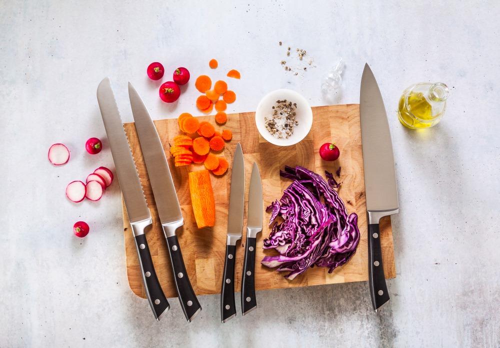 Tipos de faca para cozinhar