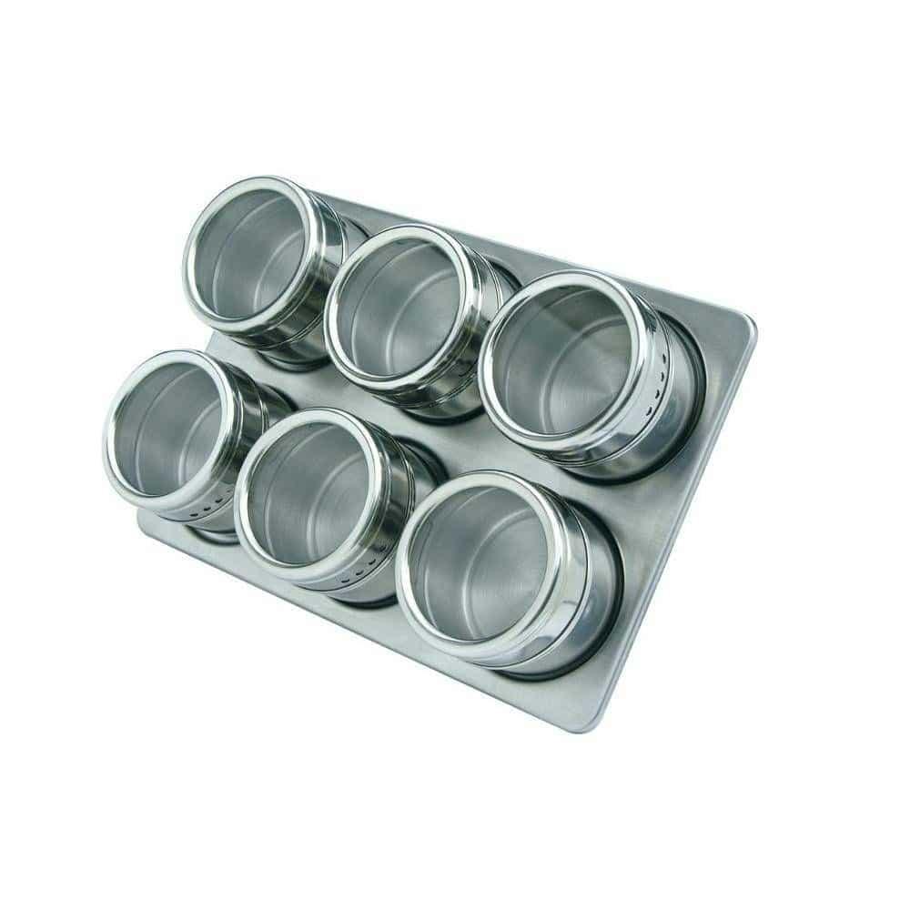 Porta-Temperos-e-Condimentos-Magnético-com-06-unidades-Inox-Cozinha