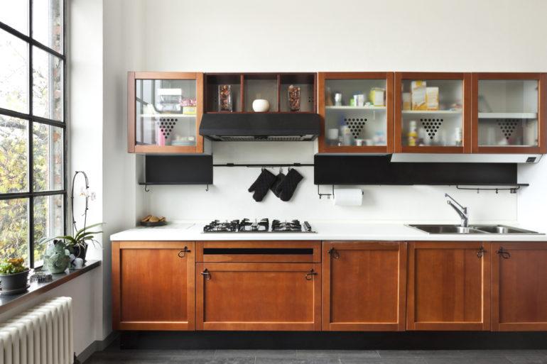 como escolher o armário de cozinha