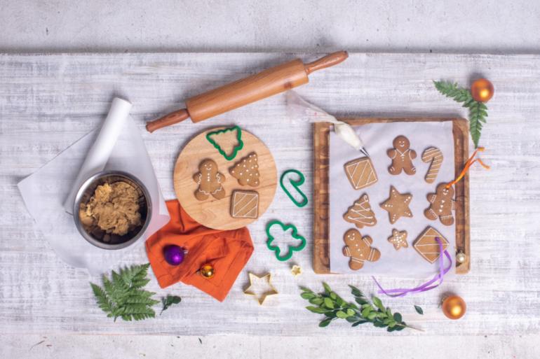 como fazer biscoito natalino