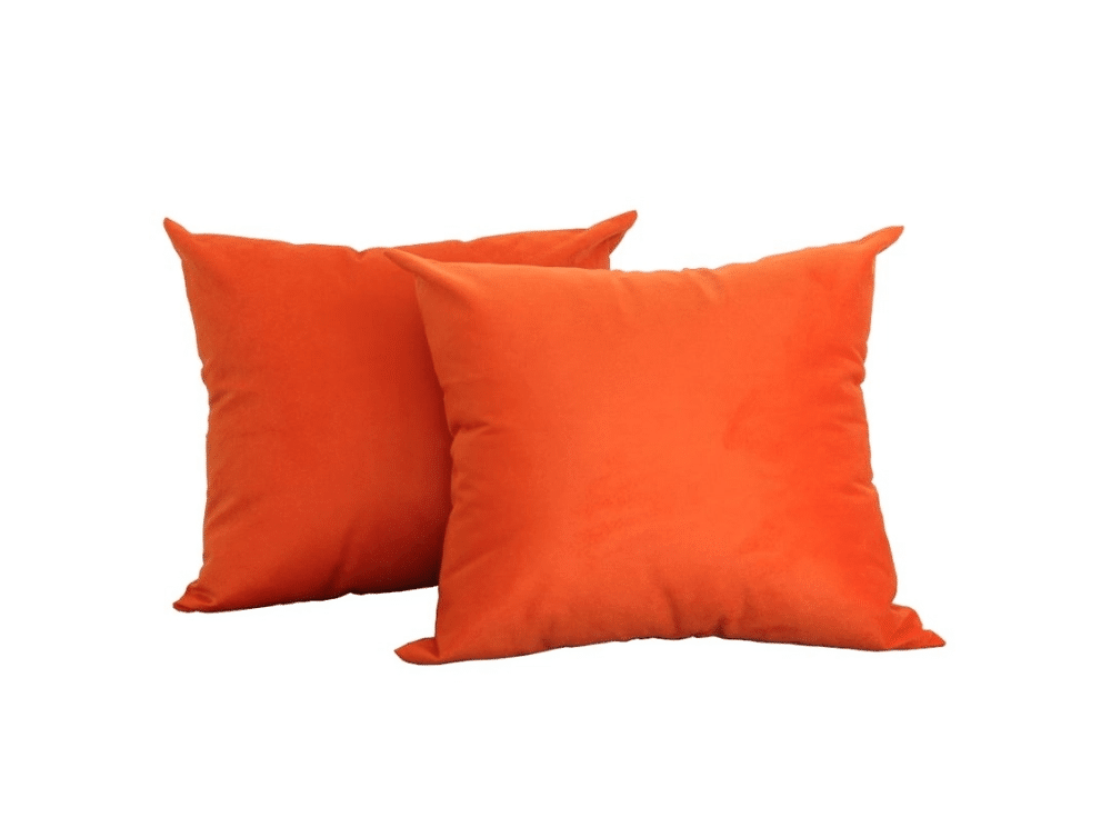 almofada laranja