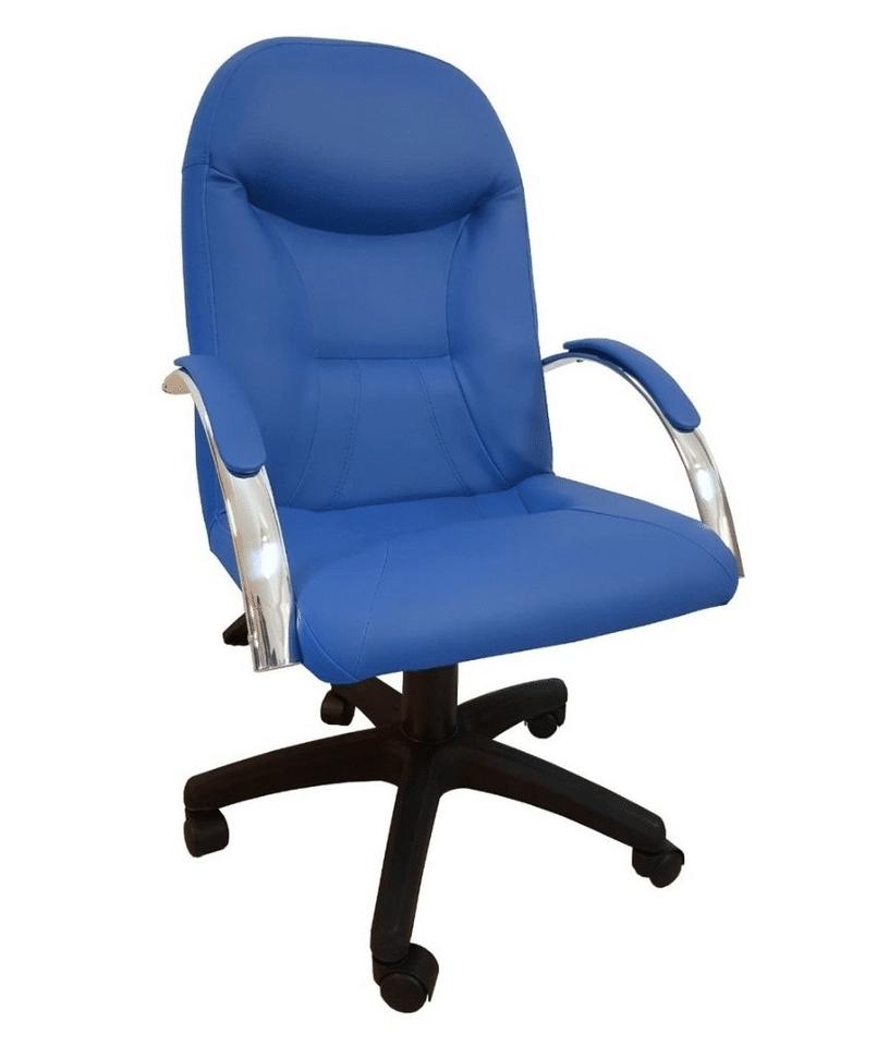 cadeira de escritório azul