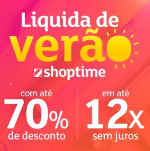 Liquida de verão Shoptime