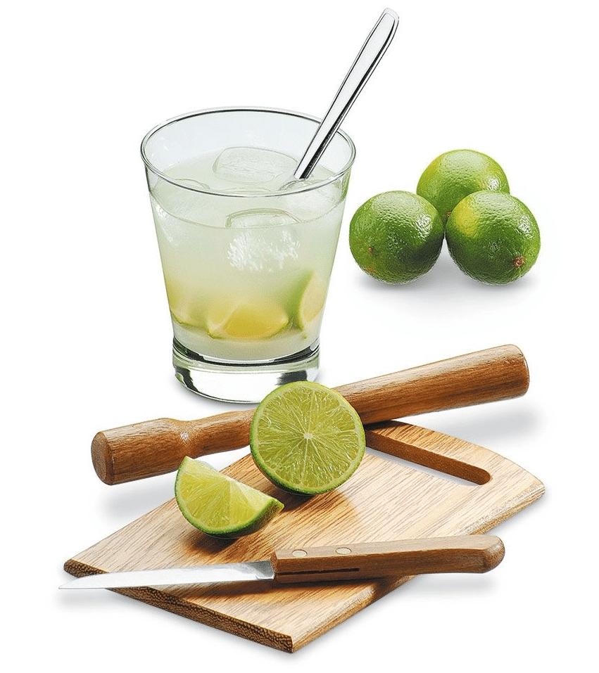 kit para fazer caipirinha de limão com picolé