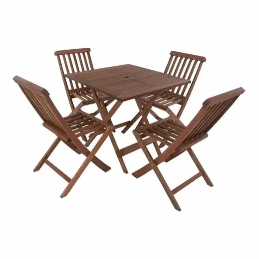 mesa-de-madeira-decoração-de-praia