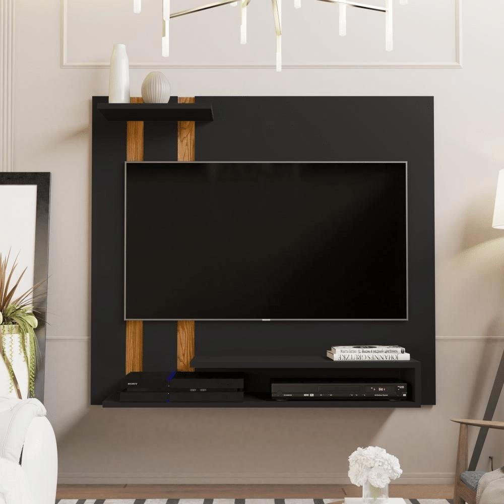 painel de TV preto
