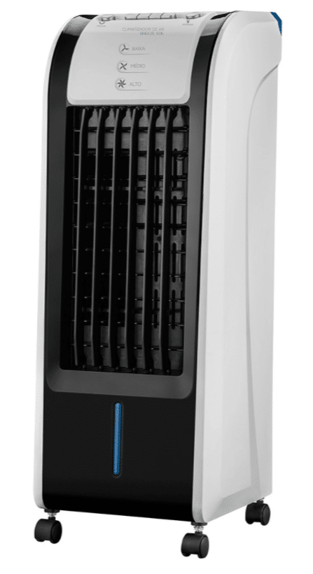limpar o climatizador