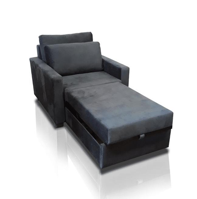 sofá-cama solteiro