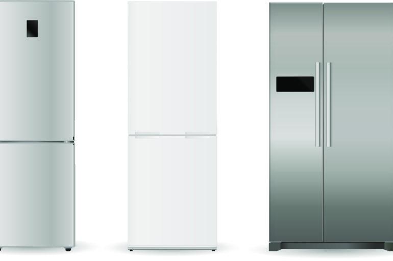 geladeira branca ou inox