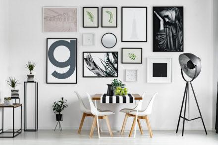 quadros na decoração