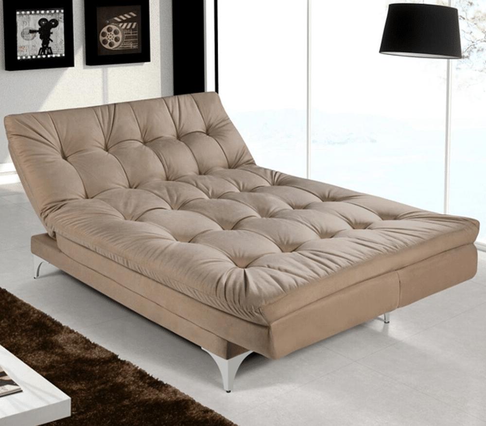 sofá-cama reclinável