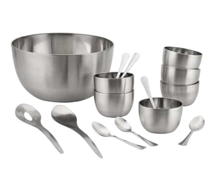 utensílios de cozinha de inox