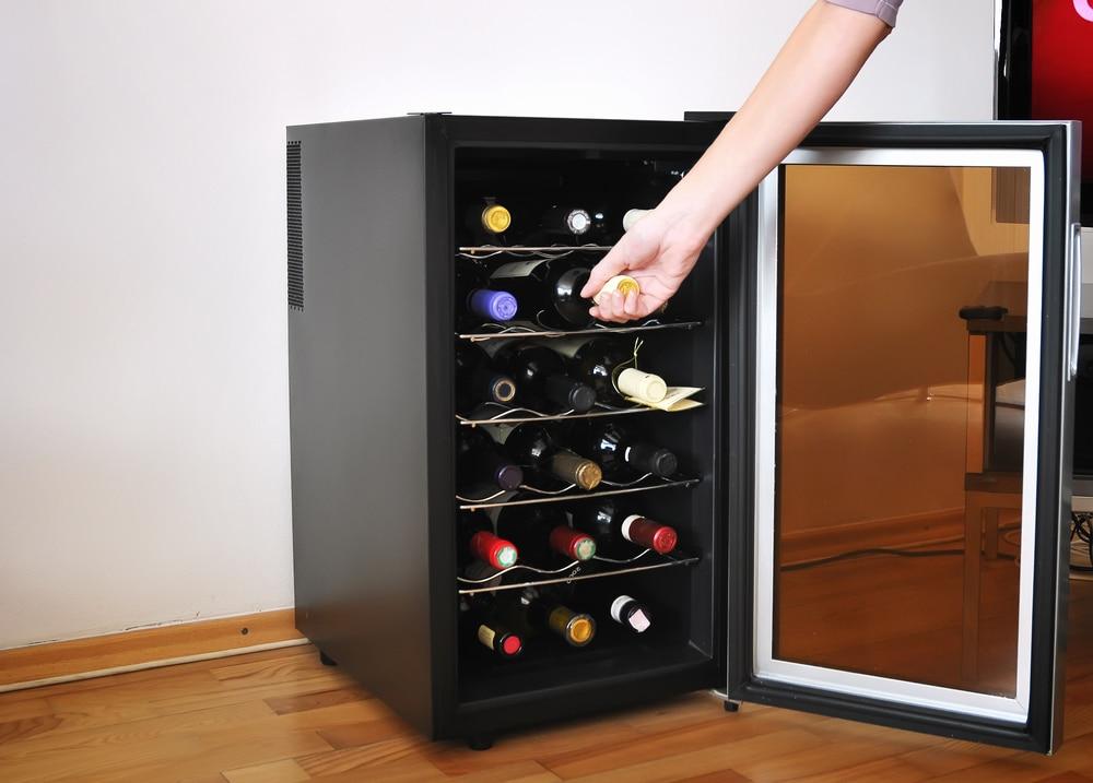 adega climatizada 18 garrafas