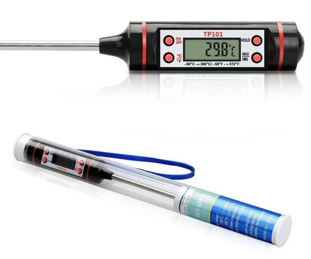 termômetro de cozinha