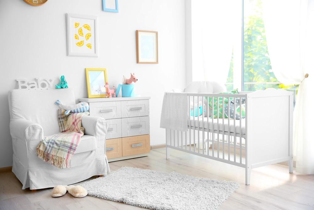 mãe de primeira viagem - móveis do quarto do bebê