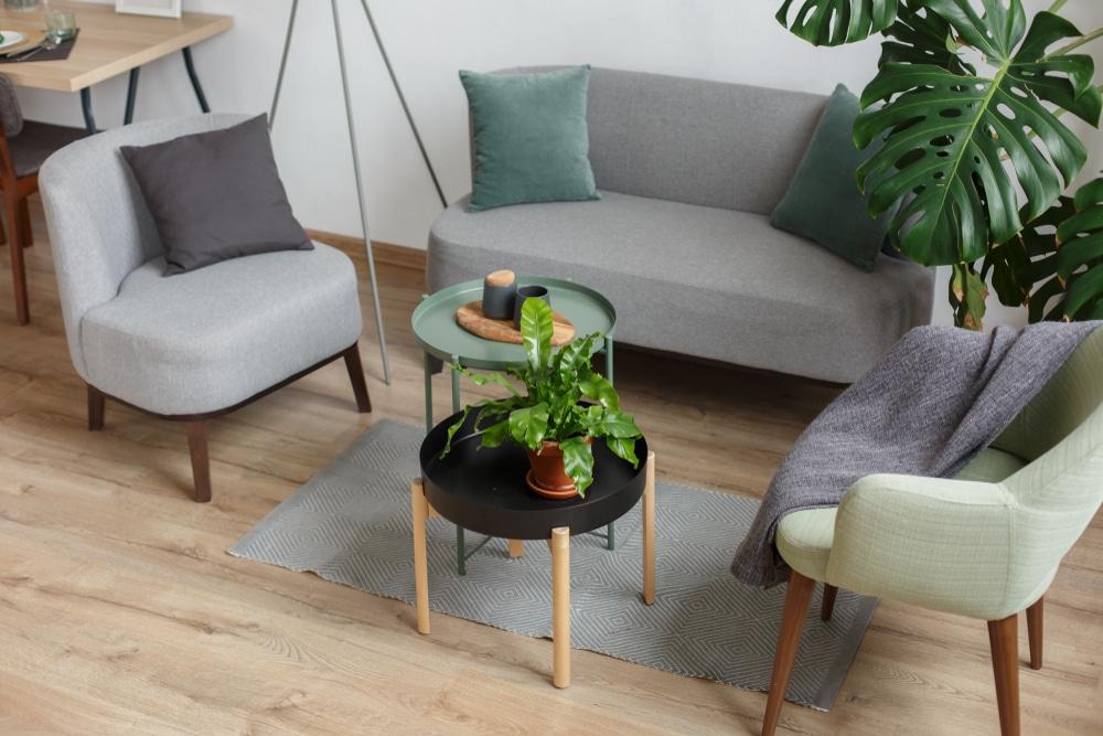mesa de centro para a sala