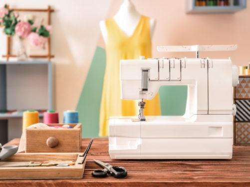 máquina de costura para iniciantes