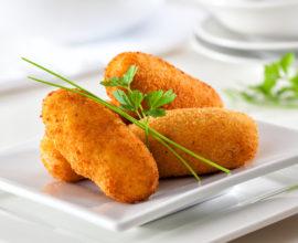 croquete de gorgonzola