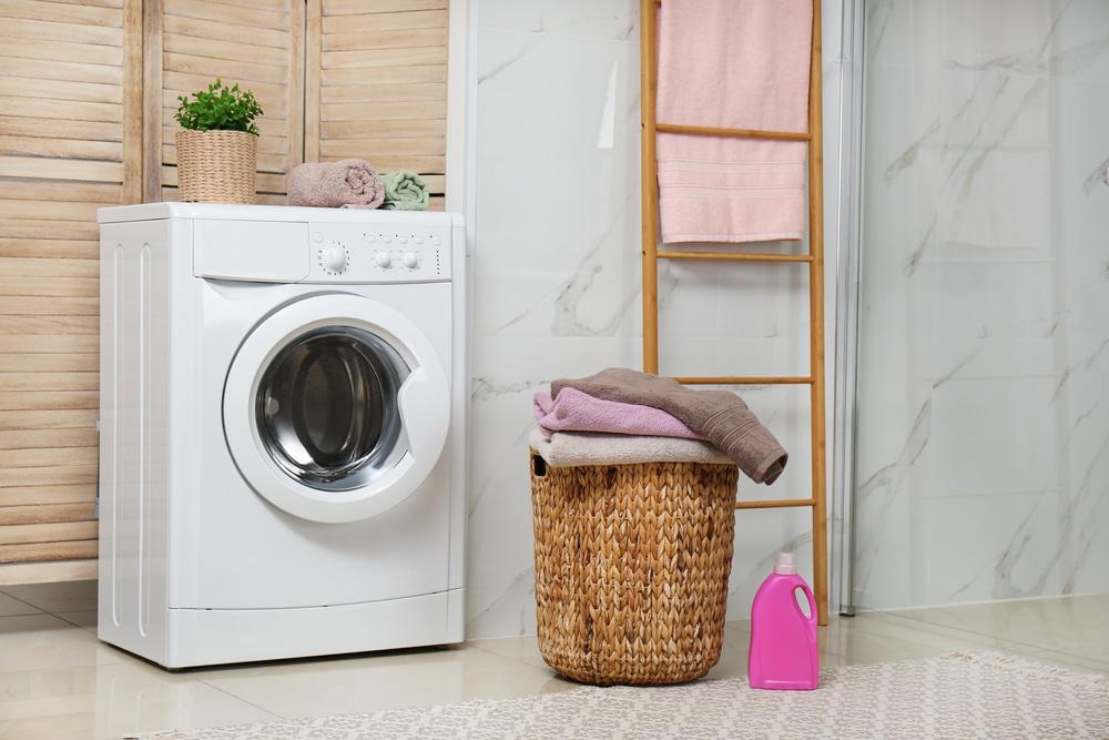 máquina de lavar front load