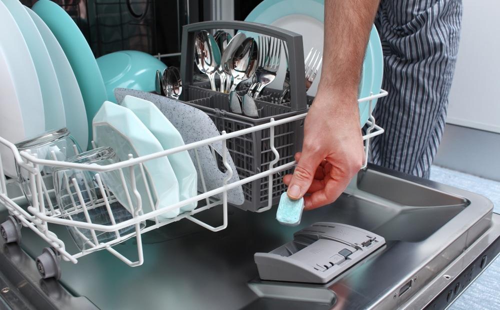 tablete para lava-louças