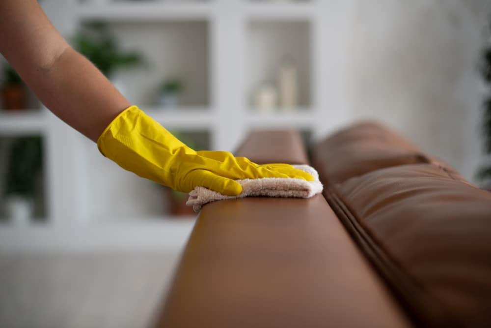 como limpar o sofá