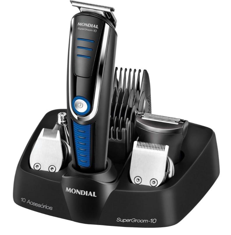 barbeador elétrico presente para pais vaidosos
