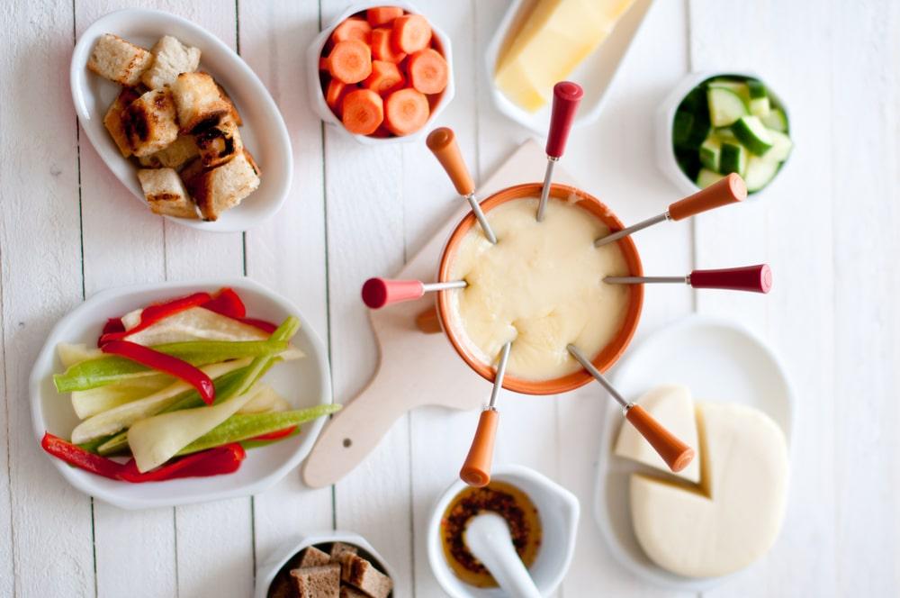 garfos da panela de fondue
