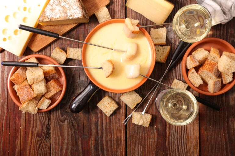 fondue de queijos brasileiros