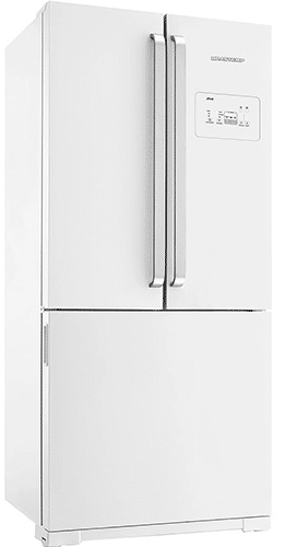 melhor geladeira side by side branco