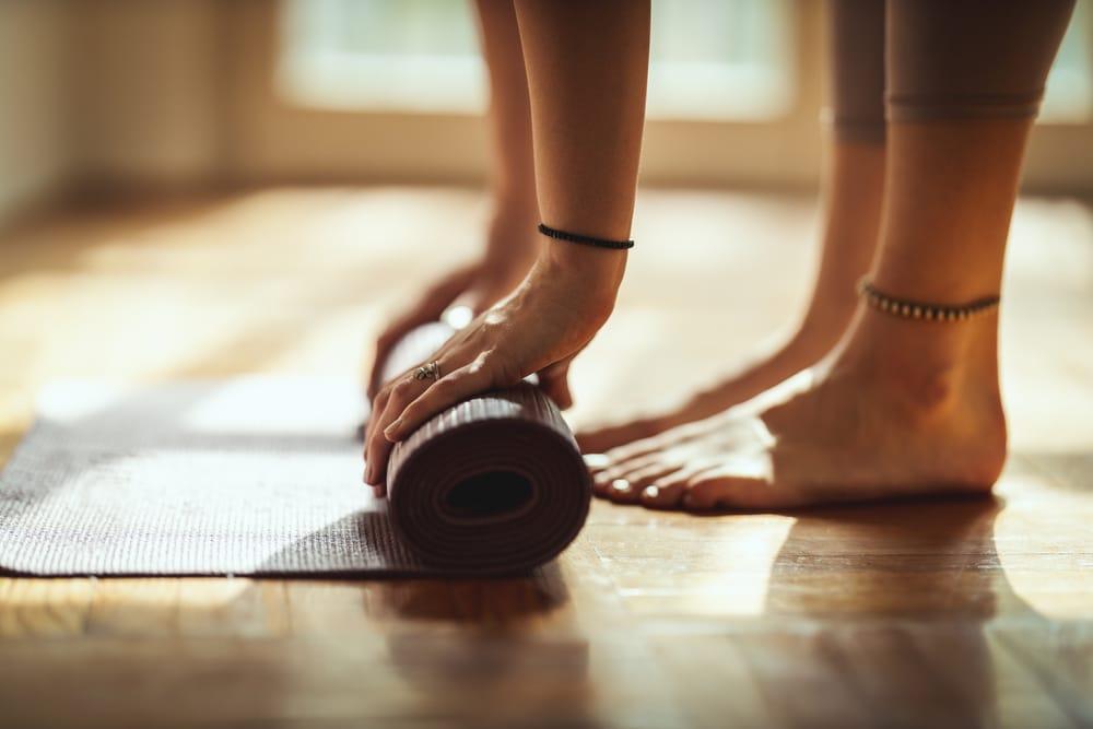 tapete para yoga cantinho zen