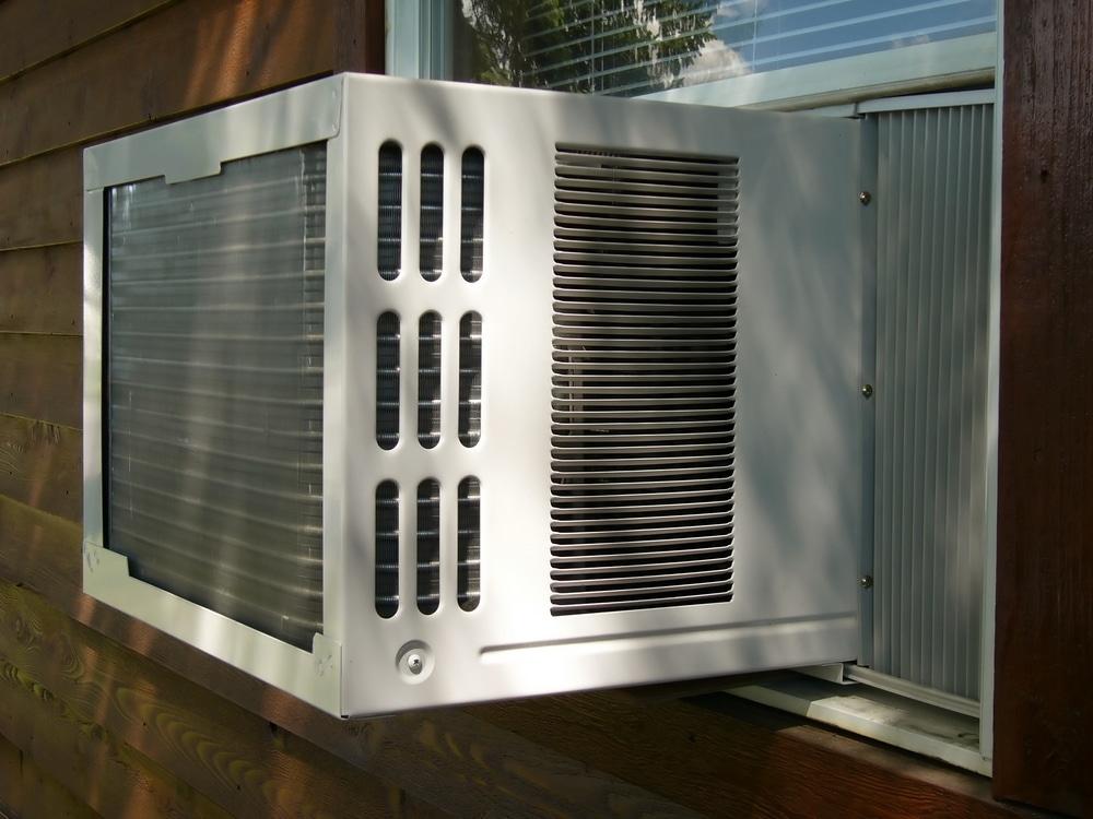 ar-condicionado de janela, um item mais econômico, porém menos silencioso